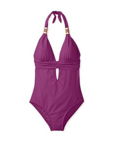 L*Space Women's Sweet Thing One-Piece Swimsuit at MYHABIT #Purple $89 #Hot!