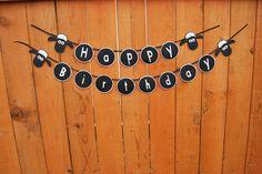 Shaun the Sheep Birthday Banner, Banner, Birthday Banner, Shaun the Sheep, Birthday Party, Party, Custom Parties by PartyAtYourDoor