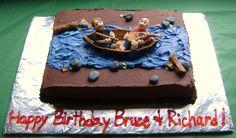 canoe birthday cake | Birthday Canoe cake — Birthday Cakes
