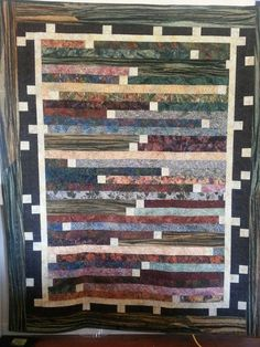 jelly roll race 1600 quilt by MagnoliaFly, via Flickr | patchwork ... : 1600 quilts - Adamdwight.com
