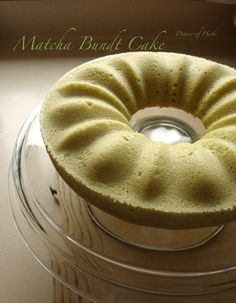 Bundts do not like me. But I still love them! This time I used the [expensive!] matcha green tea powder that my family had purchased recently at an Asian market to make a matcha bundt cake.  The la...