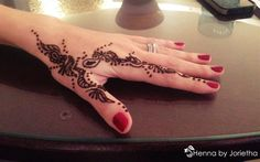 Henna By Jorietha Henna designs on hands, feet, wrist, arm, neck, back etc www.facebook.com/hennabyjorietha Twitter: @hennabyjorietha Website: Jorietha.com E-mail: henna@jorietha.com