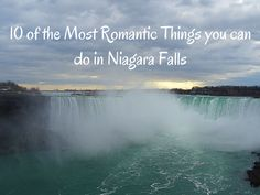 You might just be surprised on the ways you get romantic at Niagara Falls, Ontario, Canada #travel #ngtradar #romance