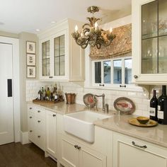 Cream Cabinets Design, Pictures, Remodel, Decor and Ideas - page 2