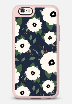 Navy Floral iPhone 6s case by Allyson Johnson   Casetify