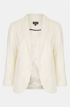 Topshop 'Jet' Blazer available at #Nordstrom.  Just what I've been looking for!