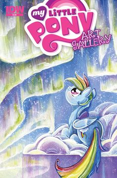 My Little Pony Art Gallery—Spotlight  Various (a) • Sara Richard (c)  Showcasing beautiful pin-ups and covers from some of the best new My Little Pony artistic talent! Will this be where you find your new favorite artist?  FC • 32 pages • $3.99