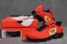 76612a4128052 Cheap Nike Air Max PLUS TN ULTRA VaporMax 2018 Mens shoes Red Black Nike  Air Max