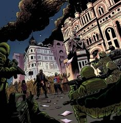 Sydney's QVB under attack! This is Zombie Cities.