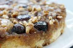 Eat Laugh Love: The BEST Cake. Ever. Fresh Fig, Walnut, and Rosemary Upside-Down Cake