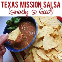 Homemade Texas Mission Salsa