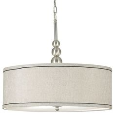 I pinned this Clark 3 Light Pendant in Brushed Steel from the Design Craft event at Joss and Main! $114.95