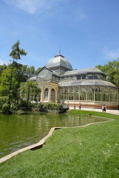 Palacio de Cristal en El Retiro - Madrid