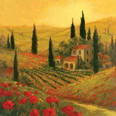 185 Beste Afbeeldingen Van Tuscany Paintings