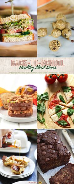 Sunbutter Backpack Kisses + Healthy Back-to-School Meal Ideas (Giveaway)