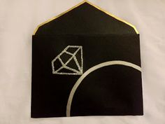 Gold edged DIY envelope