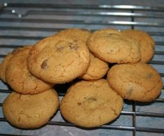 Crunchy Choc Chip Cookies by k_alexandratos on www.recipecommunity.com.au