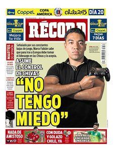 México - RÉCORD 30 de junio del 2015