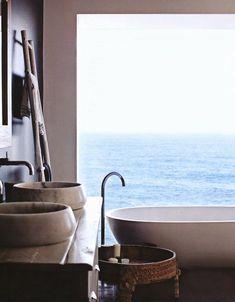 Ohlala, beach house bathroom
