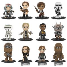 More Solo: A Star Wars Story Mystery Minis Coming To Target