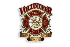 Volunteer Firefighter Fire Department Tradition Dedication Sacrifice Reflective Decal from Mustang Loot