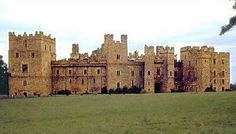 Castle Raby, home of the Nevilles, in Durham, England