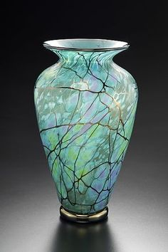 Serenity Vase by David Lindsay: Art Glass Vase available at www.artfulhome.com