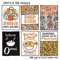 gemma correll and her merry band of misfits: ooh la la (mb chops)