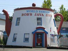 World famous Bob's Java Jive in Tacoma, Washington