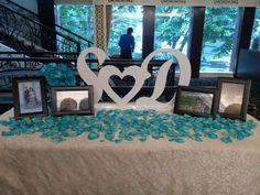 ~ Initial, wedding decor