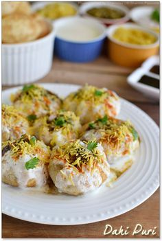 Dahi Puri - my favourite Indian food