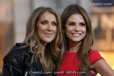 Celine Dion appears with Maria Menounos on Extra TV show Click see more pic. http://www.icelebz.com/events/celine_dion_appears_with_maria_menounos_on_extra_tv_show/