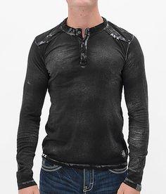 Affliction Weld Henley - Men's Shirts/Tops   Buckle