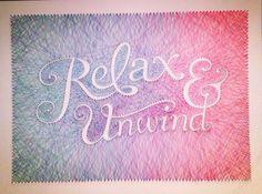 Thread art by Dominique Falla