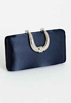 Satin box bag w\hors