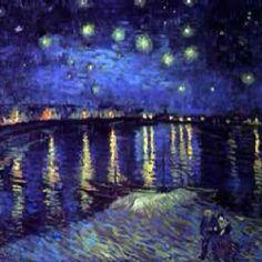 Notte stellata sul Rodano - 1888 - Vincent Van Gogh