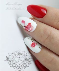 If you don't know what style to make when you want to get a new nail art design and would like to bring spring to your fingertips, these flower nails should be your next project! just check popular nail art designs this spring. 3d Nail Art, New Nail Art Design, Nail Arts, Hot Nail Designs, Popular Nail Art, Magic Nails, Flower Nail Art, Hot Nails, Finger