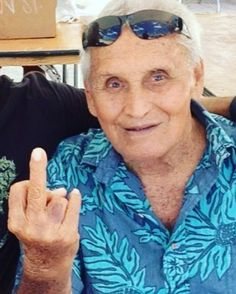 #RabbitKekai...you will be sorely missed by our clan after almost 96 years on this planet. Thank you for the friendship and the many laughs and smiles. A true legend who had something good to say or an inside joke for almost every single person he came in contact with. #LordTallyHoBlears and Rabbit were staples at the #TripleCrown events on the #NorthShore forever. He told me he learned Japanese to hit on the tourist girls in Waikiki as a #BeachBoy. For a time #UncleRabbit was said to be the…