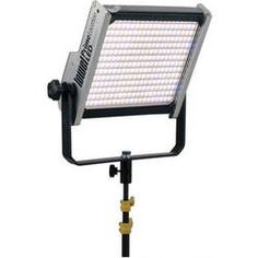 Lowel Prime Location Tungsten LED Light with Anton Bauer Gold Battery Mount