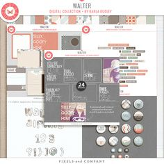 Walter Digital Collection by Karla Dudley || 30% off 3/22 - 3/24 2013. Plus get the collection for a chance win all her new releases for a full quarter! April-June! Sweet!!