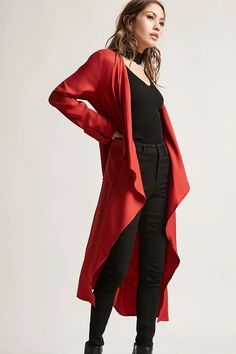 Product Name:Longline Draped Jacket, Category:CLEARANCE_ZERO, Price:38