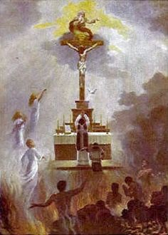 Many Poor Souls are released from Purgatory go to Heaven during mass - especially at the Consecration.