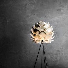 Vita Silvia Lampshade Brushed Brass Medium