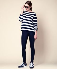 striped jumper matching shoes