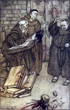 Arthur Rackham, from The Ingoldsby legends,
