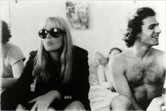Nico with Robert Mapplethorpe Chelsea Hotel by Andy Warhol Bianca Jagger, Charlotte Rampling, Twiggy, Andy Warhol, Alexa Chung, Ibiza, Everybody's Darling, Chelsea Hotel, Saint Laurent