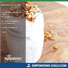 Amazing protein shake recipes by Isagenix. Learn how the amazing Isalean Shake can fuel you with 24 grams of indentured protein as well as needed vitamins and minerals to make a complete meal replacement shake that tastes amazing Protein Shakes, High Protein Smoothies, Protein Shake Recipes, Smoothie Diet, Smoothie Recipes, Fruit Smoothies, Isagenix Shakes, Meal Replacement Shakes, Exotic Food