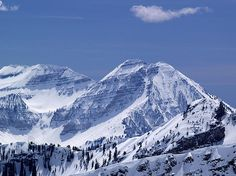 This is the Rocky Mountains from the backside of Snowbird. Snow, Snowbird, Skiing, Mountains, Rockies