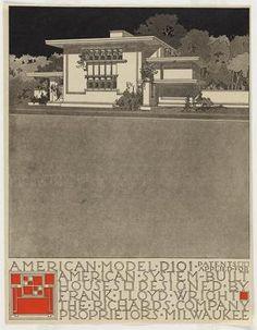 Frank Lloyd Wright's housing plan