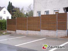 Schallschutzzaun Silence décor / 4kant Stahlpfosten verzinkt, Zaunteam Rhein-Sieg, Neunkirchen-Seelscheid, 51570 Windeck
